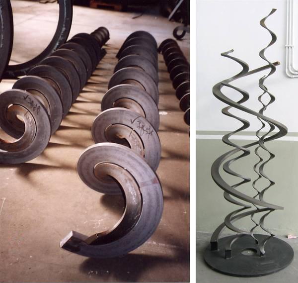 spiral forming machine